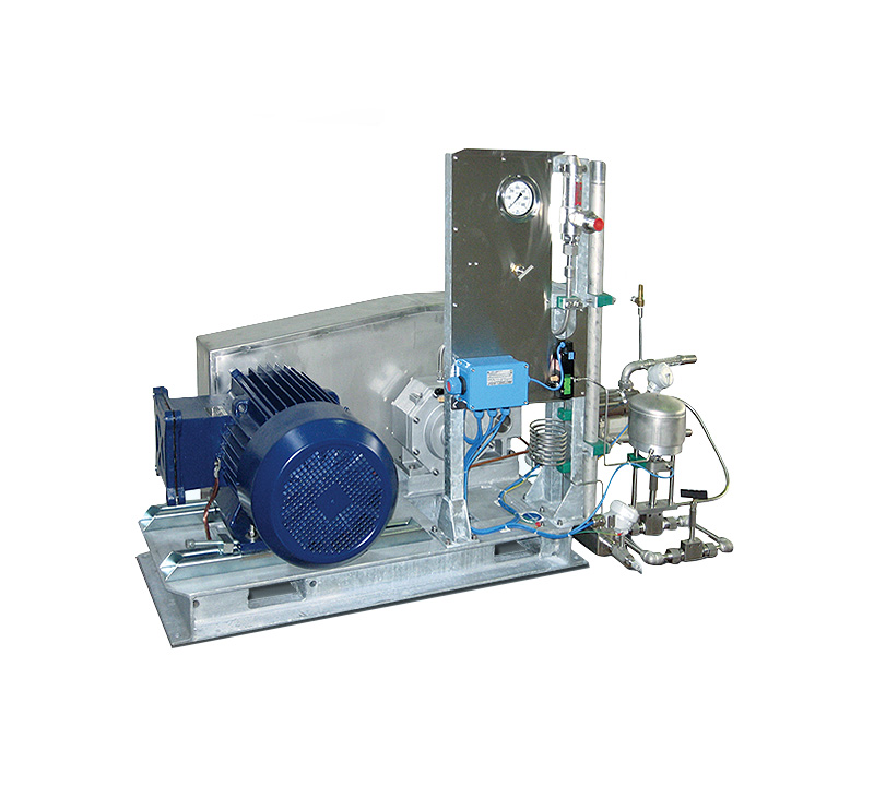 Skid reciprocating pump VT-1