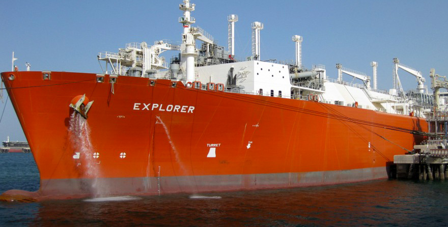 Floating storage regasification unit - Explorer