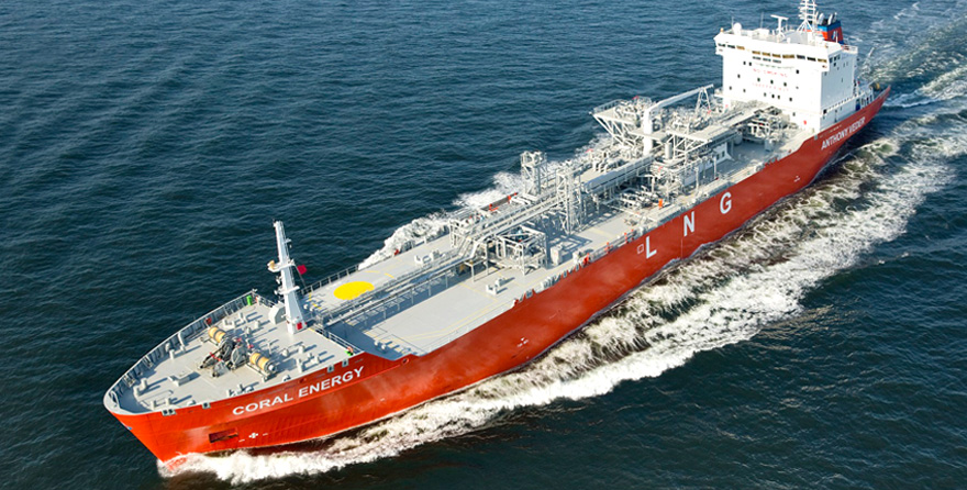 LNG carriers - Coral Energy